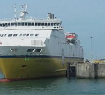 Seine-Maritime : fuite de produit chimique sur des bidons défectueux au Transmanche de Dieppe