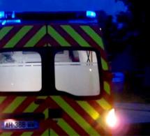 Eure : deux blessés, dont un grave, dans une sortie de route ce matin près de Thiberville