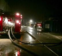 Eure : un hangar agricole et 200 tonnes de paille partis en fumée à Amfreville-Saint-Amand