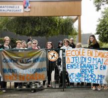 Seine-Maritime : école morte contre la réforme de l'éducation vendredi à Petit-Couronne