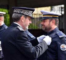 Seine-Maritime : hommage aux policiers morts en service et installation de commissaires