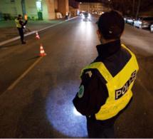 Yvelines : le chauffard force un contrôle de police à Aubergenville, puis percute une voiture de la gendarmerie