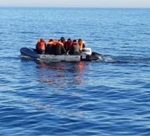Neuf migrants qui traversaient la Manche interceptés par la gendarmerie maritime