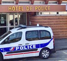 L'automobiliste a été placé en garde à vue à l'hôtel de police pour détention de produits stupéfiants - Illustration