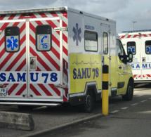 Yvelines : une moto percute une voiture à Carrières-sous-Poissy, le pilote est blessé grièvement
