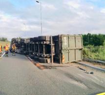 Yvelines : un accident de poids lourd perturbe fortement la D113 à Poissy