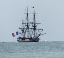 #Armada2019. L'Hermione arrive à Rouen après une (trop) courte escale à Rives-en-Seine