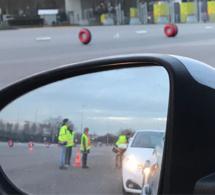 Gilets jaunes : péage gratuit hier soir sur l'autoroute A13 à Mantes-Buchelay
