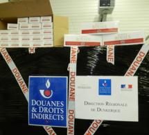 30 000 cartouches de cigarettes découvertes par les douaniers de Calais dans un camion polonais