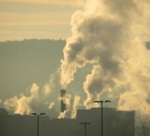 Pollution de l'air par le dioxyde de soufre à Notre-Dame de Gravenchon en Seine-Maritime
