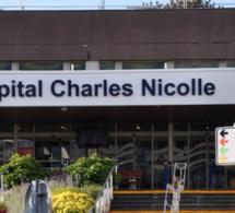 La jeune fille avait été admise en réanimation à l'hôpital Charles-Nicolle à Rouen. Son pronostic vital était alors engagé - Illustration @ infonormandie .