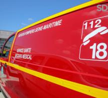 Seine-Maritime : un motard blessé grièvement dans un accident de la route près du Havre