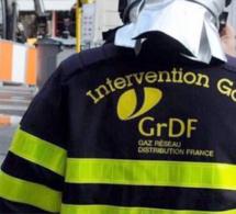 Conduite de gaz arrachée à Bois-Guillaume : habitants confinés et route coupée