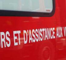 A Hautot-sur-Mer, la moto sort de la route et percute une palissage : le pilote et son passager sont blessés