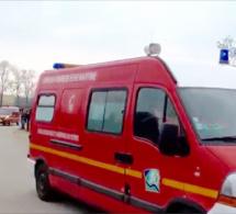 Seine-Maritime : la voiture finit sa course dans le fossé près de Duclair, un blessé léger