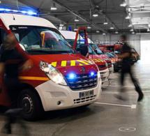 Voiture sur le toit sur l'A28 en Seine-Maritime : trois blessés légers et autoroute coupée