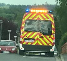 Le père et le fils légèrement blessés ont été conduits à l'hôpital par les sapeurs-pompiers - Illustration © infonormandie