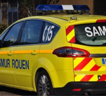 Seine-Maritime : un motard grièvement blessé ce matin route d'Émanville a Limésy