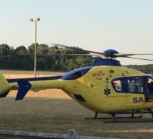 Eure : fauché par une voiture à Pacy-sur-Eure, un cycliste héliporté dans un état grave à Rouen