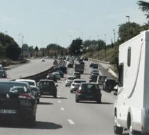 Sur l'autoroute de Normandie - Illustration @ infonormandie