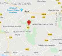 Sortie de route près de Rouen, la voiture s'embrase avec trois occupants à bord