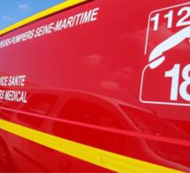Le Havre : la BMW roulait à vive allure, elle s'encastre dans le mur d'un immeuble du centre-ville