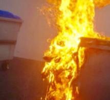 Evreux : le riverain « jouait » au pyromane en incendiant les poubelles dans sa rue