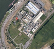"""Le feu dans un réservoir chez Saipol, près de Rouen : """"pas d'incidence sur la santé ni sur l'environnement"""""""