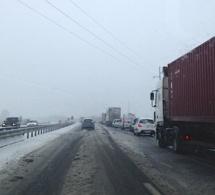 La neige est là, et premiers tracas sur la route