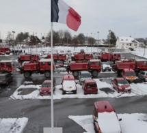 Des pompiers du Loir-et-Cher et d'Indre-et-Loire appelés en renfort en Seine-Maritime