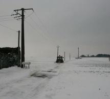Vatteville (Eure) : mon village sous la neige par Catherine (DIAPORAMA)