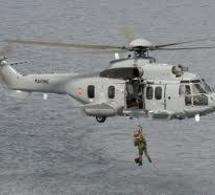 Evacuation sanitaire d'un septuagénaire victime d'un malaise en mer au large du Cotentin