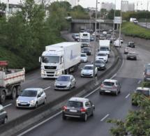 Gros ralentissement sur la Sud III en direction de Rouen après un accident