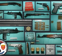 Un arsenal d'armes de guerre découvert dans un local à la Mare Rouge au Havre