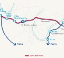 L'autoroute A 14 sera fermée entre La Défense et Poissy-Orgeval à partir du 28 juillet