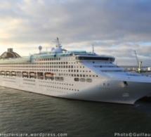 Le paquebot Oceana en escale au Havre ce samedi