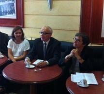Yvon Robert, déclare sa candidature aux élections municipales  de mars 2014 à Rouen