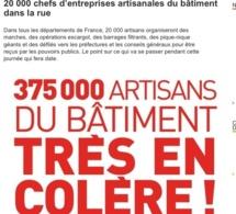 """Seine-Maritime : Les artisans du bâtiment défilent """"pour la survie de leur modèle"""""""
