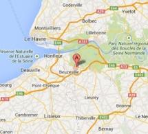 Incendie dans une entreprise de l'Eure : 1000 m2 de déchets détruits