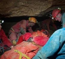 Une course d'orientation qui se termine mal dans les grottes de Caumont