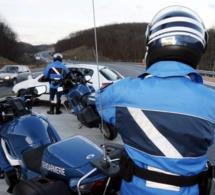 Vaste opération anti-délinquance ce matin sur l'A150 entre Barentin et Rouen