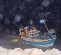 Un chalutier s'échoue près du Tréport avec quatre marins à bord