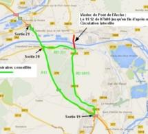 Accident de poids lourd : Le viaduc de Pont-de-l'Arche fermé mercredi 11 décembre
