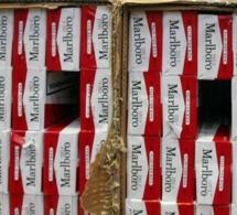 22 550 paquets de cigarettes s'envolent par la toiture du négociant de tabac, près de Rouen