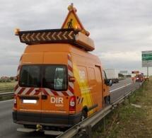 Qui a volé le camion orange de la Dirno sur la Sud 3, près de Rouen?