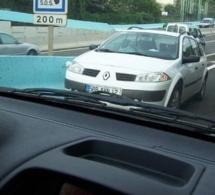 """Le véhicule """"non identifié"""" roulait à contresens sur l'A28 en direction de Rouen"""