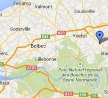 Un blessé grave sur la D6015 à Mesnil-Panneville, près de Pavilly