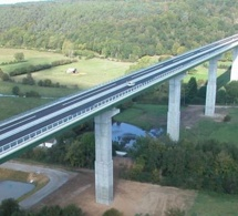 Suicide sur l'A28 dans l'Eure : Un automobiliste arrête sa voiture et se jette du viaduc de Brionne