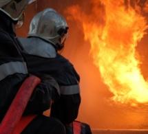 A Petit-Quevilly, une maison d'habitation en feu à la suite d'un court-circuit