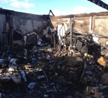 Violent incendie cette nuit à Thiberville :  pas de victime à dénombrer